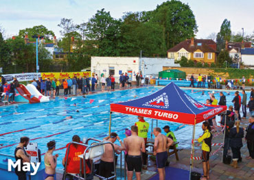 Hampton Pool Calendar 2016 May