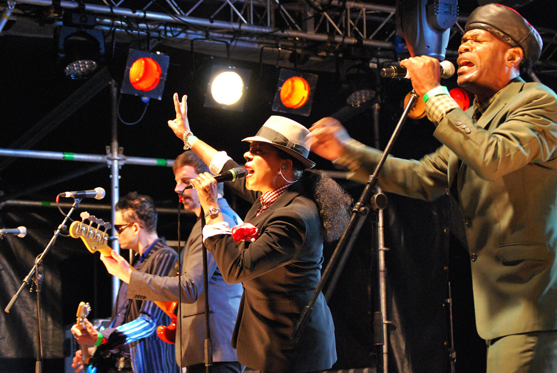 The Selecter live at Hampton Pool