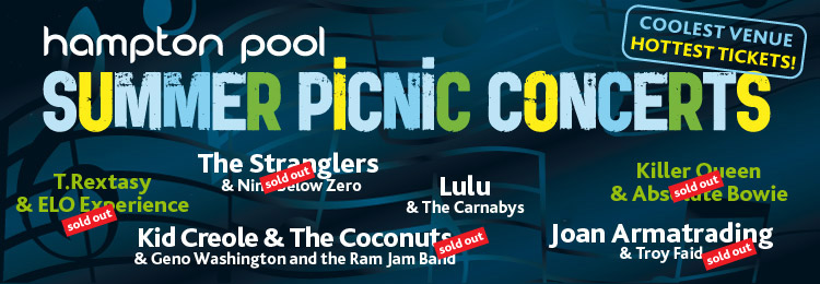 Summer Picnic Concerts at Hampton Pool