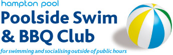 Poolside Swim & BBQ Club logo