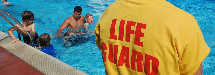 Train to be a qualified pool lifeguard at Hampton Pool